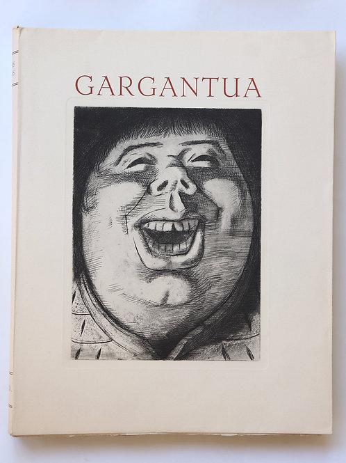 Rabelais. Laszlo Barta. Gargantua (1934). 1/18 ex. avec 2 lettres autographes