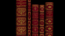 Les reliures en maroquin rouge signées L. GRETZINGER ...