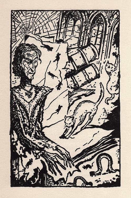 Prague. [Trois contes pour les Bibliopiles par O. Uzanne illustrés par Konupek]