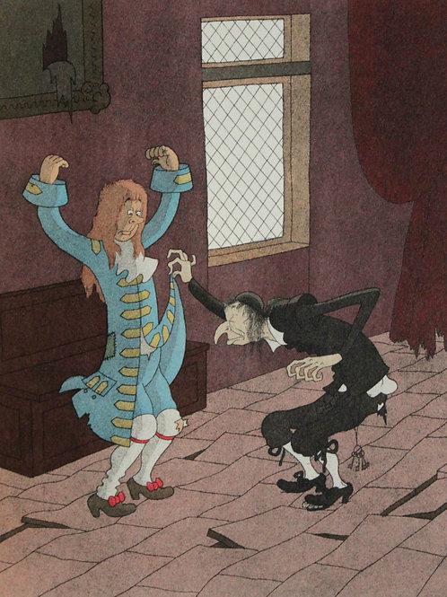 1954 L'Avare de Molière illustré par Dubout 1/500 vergé avec suite