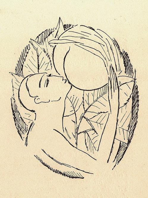 Ami-Corps (vers 1920). Poèmes érotiques du Chevalier des Couches. Rare