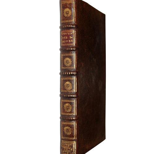 Jansénisme. Explication de l'ouvrage des Six Jours par Duguet (1731). EO