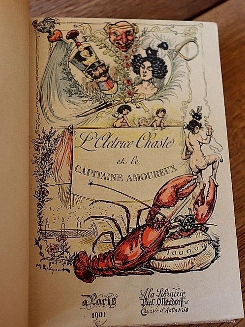 L'actrice chaste galanterie curiosa Ollendorff 1901 illustrations Radiguet