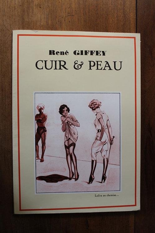 René Giffey. Cuir et Peau. Illustrations BDSM. Editions Déesse, 1977.