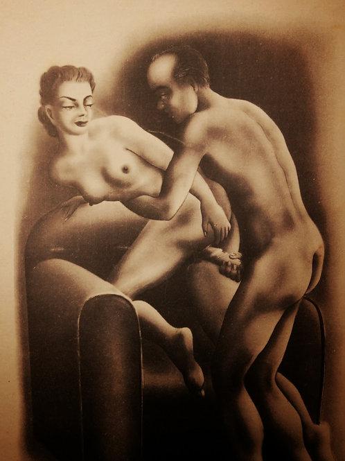 Ambre la Précoce (1956). Edition clandestine de Francis Flores à Toulouse