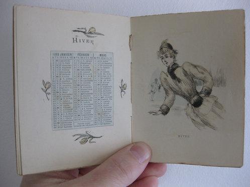 Almanach pour 1893 par Henri Boutet eaux-fortes