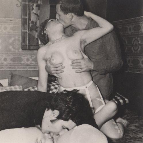 Photographie originale amateur érotique (vers 1970). Ref. 307
