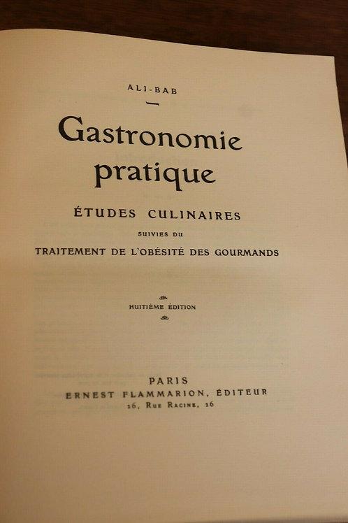 1950 Gastronomie pratique études culinaires Ali-Bab recettes Cuisine