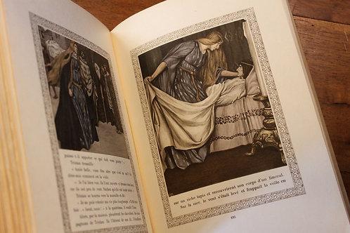 Joseph Bédier. Le Roman de Tristan et Iseut illustré par Robert Engels (1914)