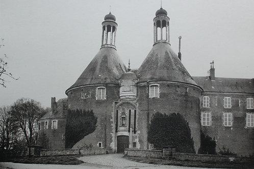 Château de Bourgogne : Saint-Fargeau (Yonne). Photogravure grand format