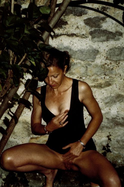 Photographie argentique amateur X vintage années 1980 Tirage 10 x 15 cm n°11