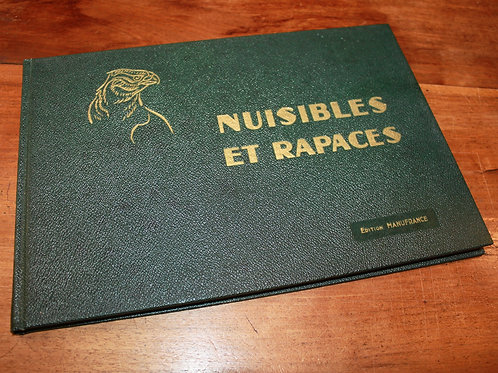 Manufrance (Saint-Etienne). Nuisibles et Rapaces (1965). Bel exemplaire