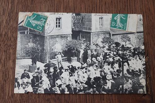 CPA Beaune Bourgogne Procession Fête-Dieu Hôtel Dieu 1912