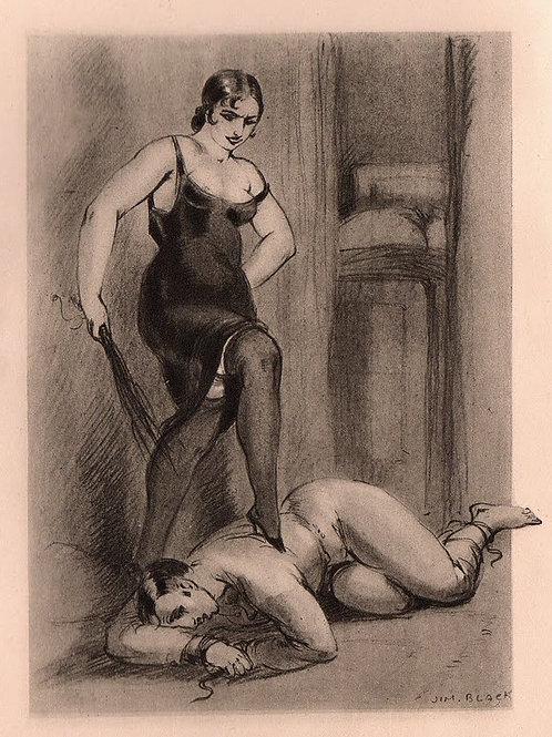 Dresseuses d'Hommes. Dialogues intimes illustré par Jim Black (Luc Lafnet). 1931