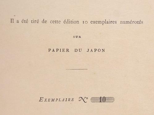 Victor Hugo. Histoire d'un crime. 1877-1878. 2 vol. 1/10 ex. Japon EO rarissime