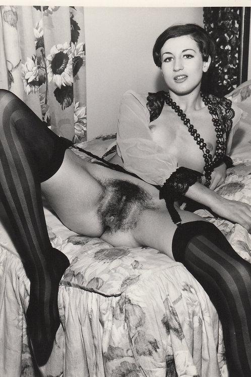 Photographie originale érotique (vers 1975). Nu féminin 10 x 15 cm