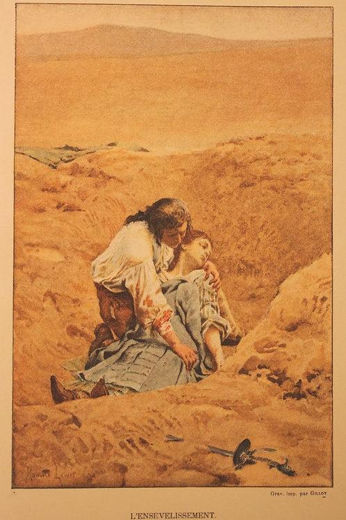 Histoire de Manon Lescaut avec Préface de Maupassant (1889). Ex. sur Chine 1/50