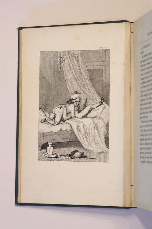 Félicien Rops. Andréa de Nerciat. Le Diable au corps (1865). Figures libres.