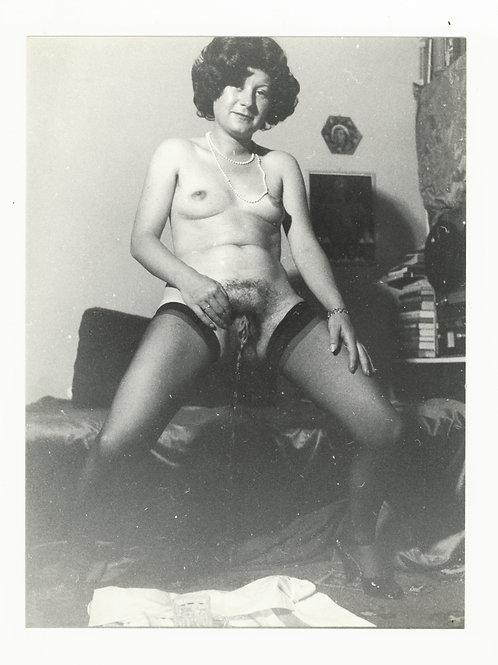 Photographie Amateur Vintage Nu féminin vers 1965. Ref. 939
