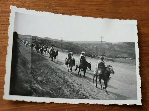 Photo ancienne vers 1930 Maroc Afrique Goumiers