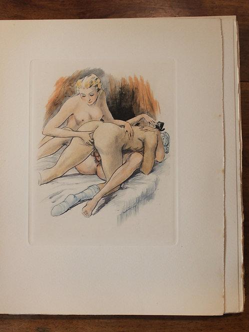 Restif de La Bretonne. La Duchesse ou la Femme Sylphide (1948). 1/20 ex. Rare
