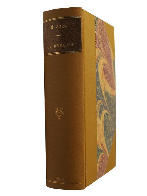 La Débâcle par Emile Zola (1892). Edition originale. 1 des 330 Hollande