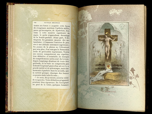 Octave Uzanne. La Nouvelle Bibliopolis (1896). Exemplaire Edouard Drumont. Rare.