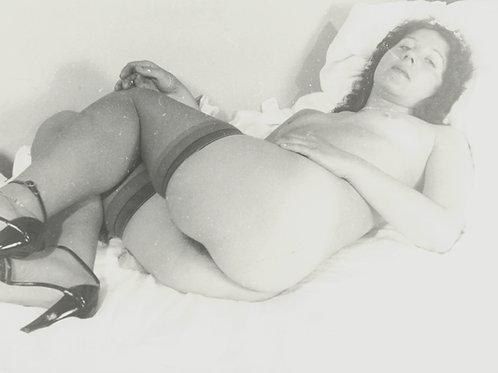 Photographie Amateur Vintage Nu féminin vers 1965. Ref. 977