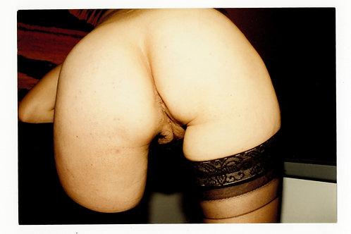 """Photographie Amateur Vintage X 1993 """"Ass"""". Ref XX7"""