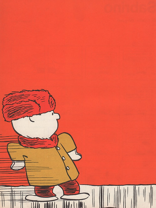 Linus. Couverture originale en couleurs offset 1965-1966