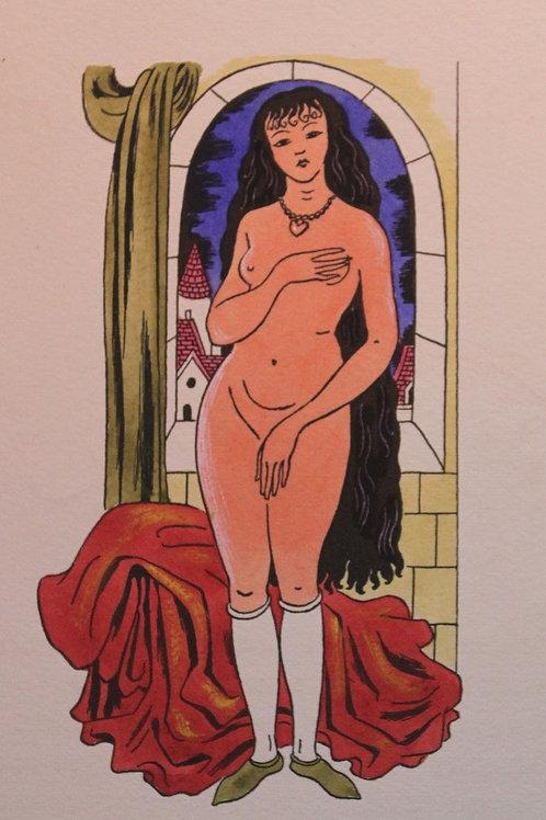 Les Ballades de Françoys Villon illustrées par Lucien Boucher (1940). Très rare