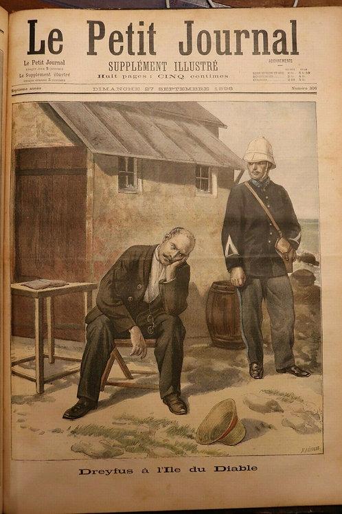 1896 Le Petit Journal Supplément illustré couleurs Année complète N°268-319