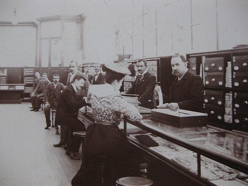 1902 Bureau du port de Veracruz Mexique photo Willnow