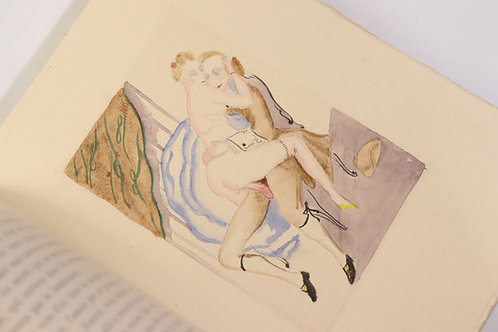 Le Libertin de qualité par Mirabeau (1929). Avec 19 eaux-fortes. 1/200 ex
