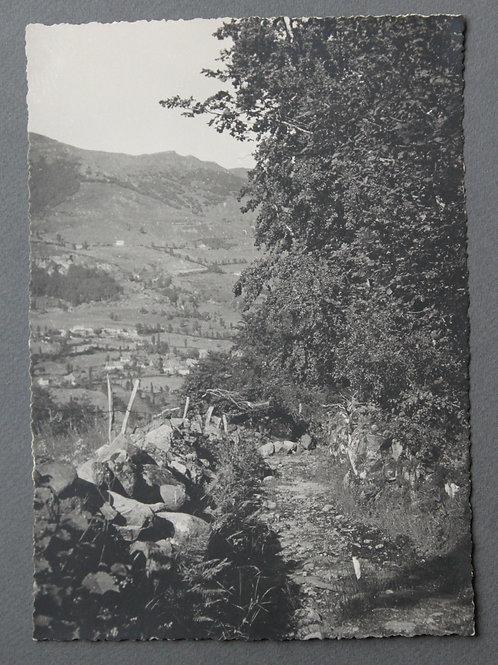 Le Falgoux Cantal. Photographie originale années 1950