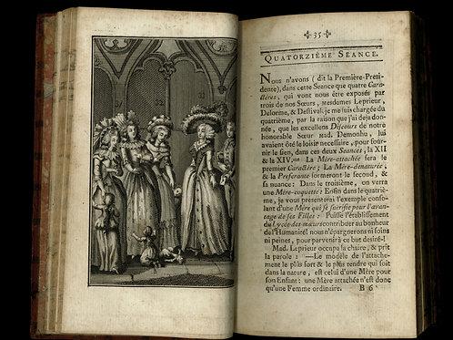 Rétif de la Bretonne [Restif de la Bretone]. Les Parisiennes. 1787. Rare
