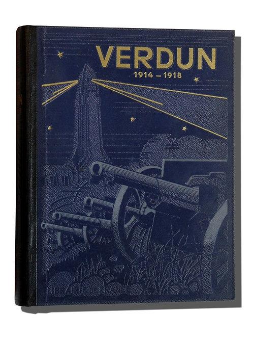 Verdun par Péricard (1933). Guerre 1914-1918. Très bel exemplaire.