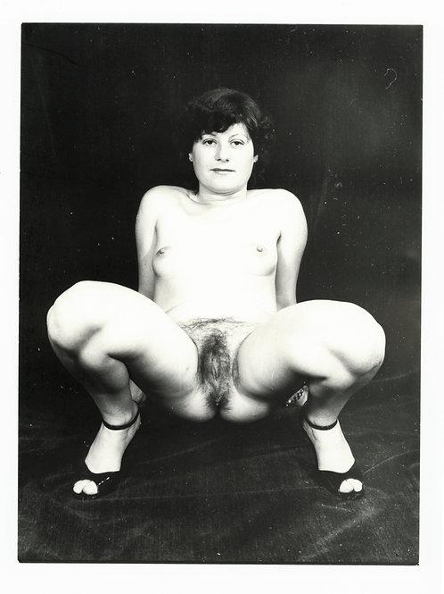 Photographie Amateur Vintage Nu féminin vers 1965. Ref. 965