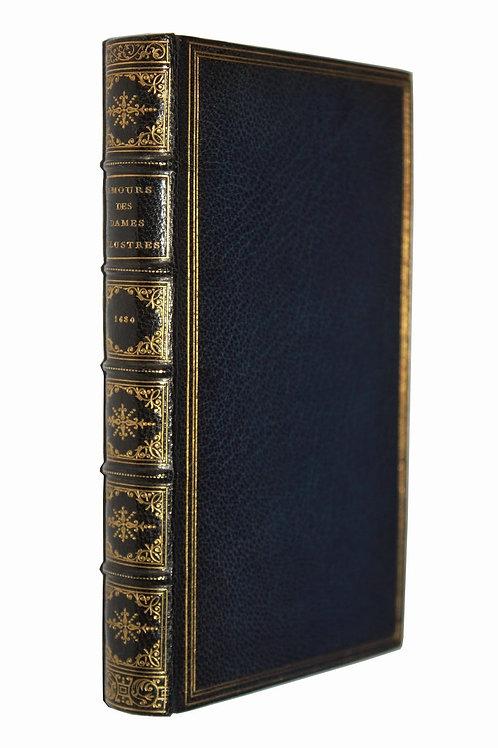 Les Amours des Dames illustres de Notre Siècle (1680). Maroquin signé Duru