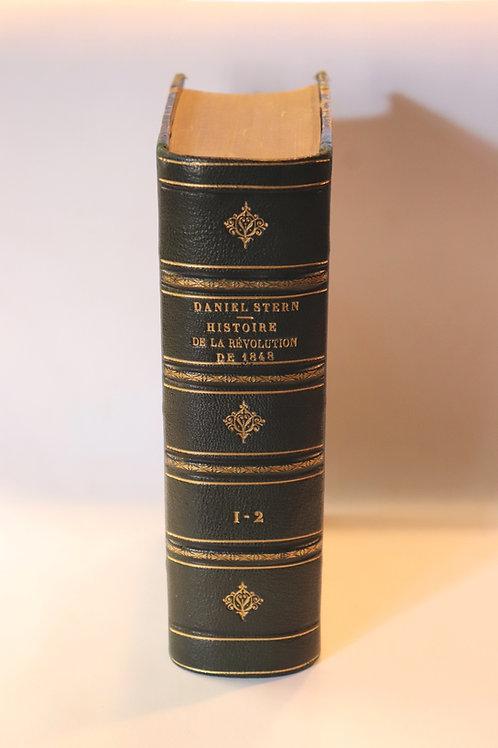 Daniel Stern (Marie d'Agoult). Histoire de la révolution de 1848. Bel exemplaire