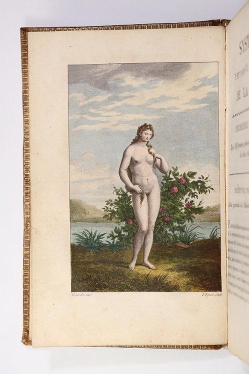 Pierre Roussel. Système physique et moral de la femme et de l'homme (1813). Fig.