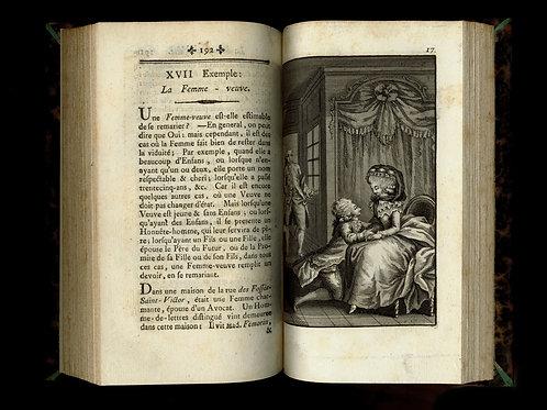 Rétif de la Bretonne [Restif de la Bretone]. Les Françaises. 1786. 34 figures
