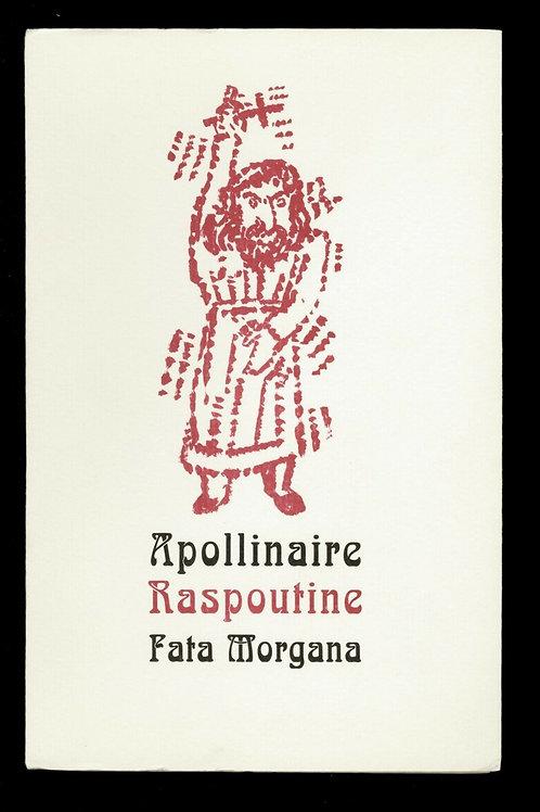 2003 Apollinaire Raspoutine texte inédit 1/450 ex. sur vergé dessins d'A. Segui