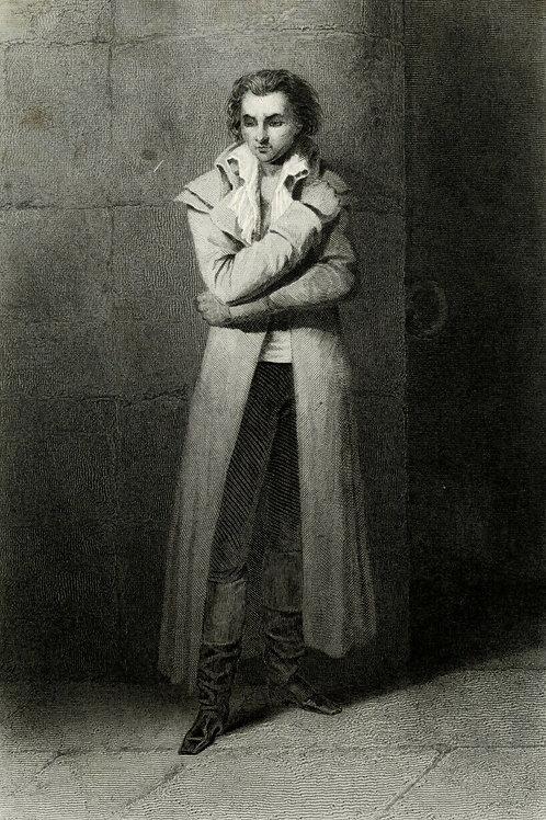 FABRE D'EGLANTINE 1840 / 1850 Portrait révolution française Belle Gravure acier
