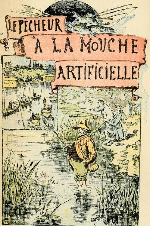 1920 Charles de Massas Le Pêcheur à la mouche artificielle Garnier couverture