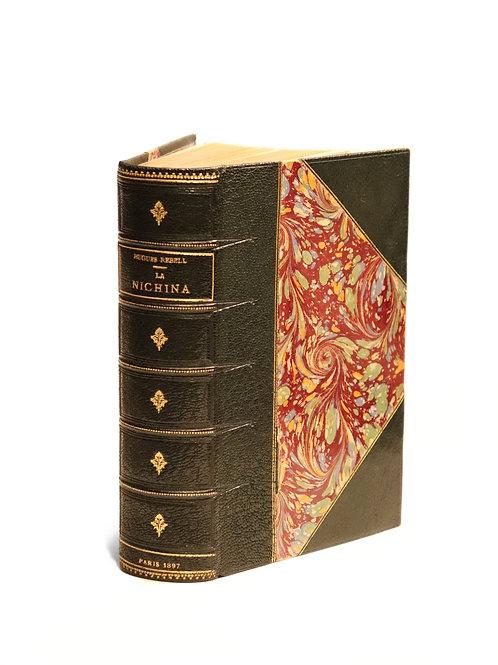 Hugues Rebell. La Nichina (1897). Edition originale. 1/59 ex. sur Hollande.