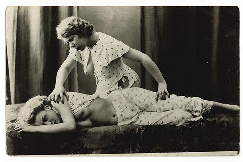 Grundworth CPA photographie années 1930 érotisme femmes