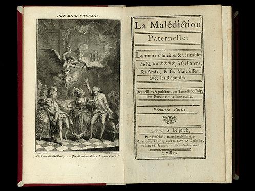 Rétif de la Bretonne [Restif de la Bretone]. La Malédiction Paternelle (1780)