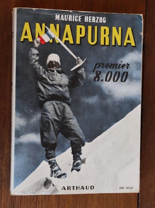 1951 Annapurna premier 8000 Herzoc Arthaud Montagne alpinisme Himalaya