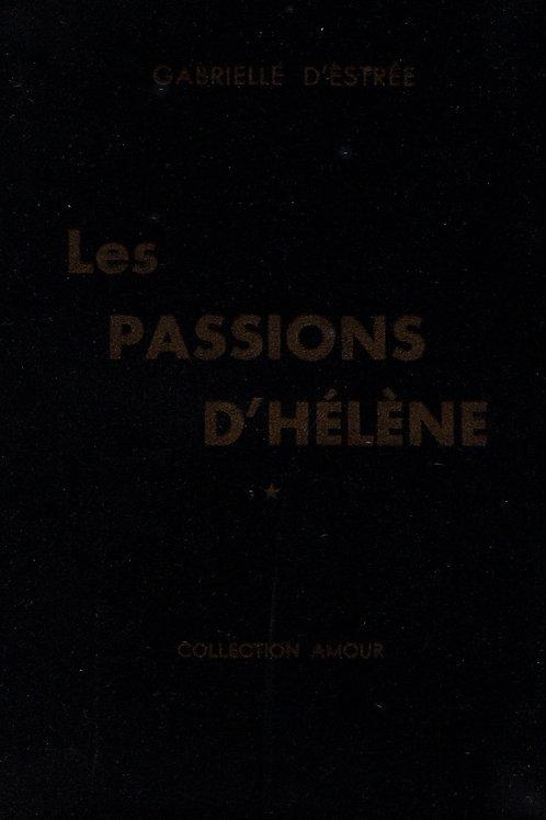 Les Passions d'Hélène (Losfeld, 1955). Clandestin pornographique rare
